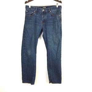 Baldwin Reed straight leg button fly jeans dark 31